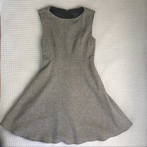 French Connection Dee Tweed Flared Dress NWT, 0